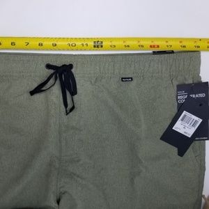 Hurley Shorts - NWT Hurley Boardshorts men's XL olive A3A